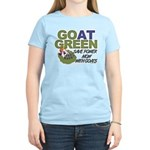GOat Green Women's Light T-Shirt