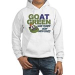 GOat Green Hooded Sweatshirt