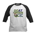 GOat Green Kids Baseball Jersey