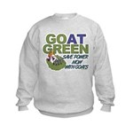 GOat Green Kids Sweatshirt