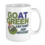 GOat Green Large Mug