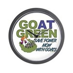 GOat Green Wall Clock