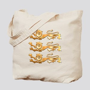 Three Gold Lions Tote Bag