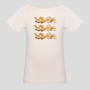 Three Gold Lions Organic Baby T-Shirt