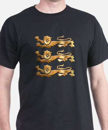 Three Gold Lions T-Shirt