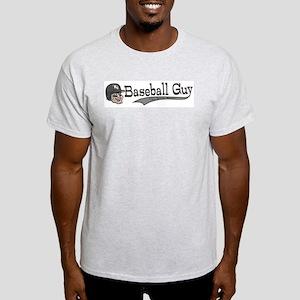 Baseball Guy Cartoon Light T-Shirt