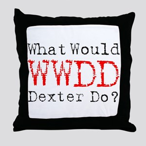 What would Dexter do? Throw Pillow