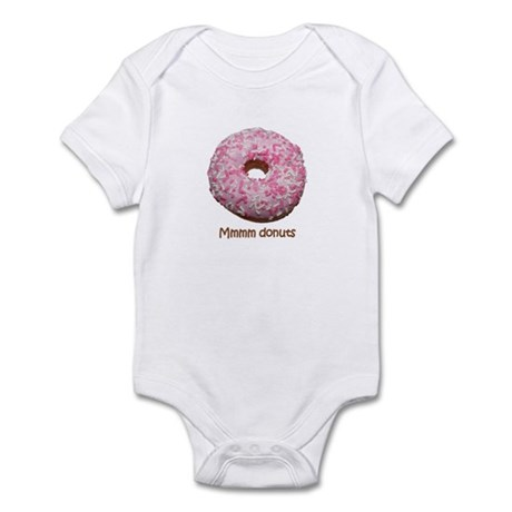 Mmmm donuts Infant Creeper