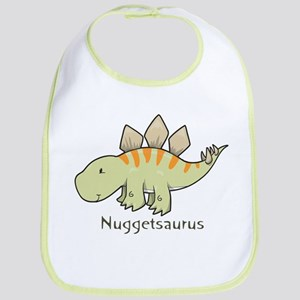 Nuggetsaurus Bib