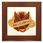 Devil's Weed Framed Tile