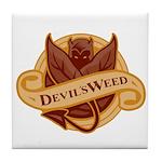 Devil's Weed Tile Coaster