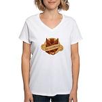 Devil's Weed Women's V-Neck T-Shirt