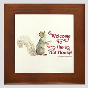 Squirrel Nut House Framed Tile