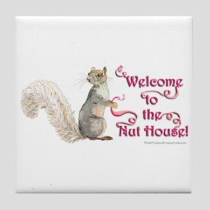 Squirrel Nut House Tile Coaster