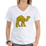Camel Toe Women's V-Neck T-Shirt