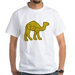Camel Toe White T-Shirt