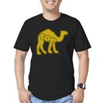 Camel Toe Men's Fitted T-Shirt (dark)