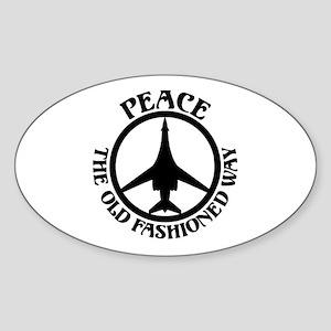 PTOFW B-1s Oval Sticker