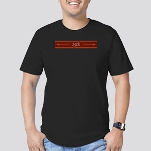 DW 15th Men's Fitted T-Shirt (dark)