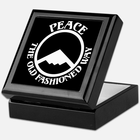 Peace with Stealth Keepsake Box