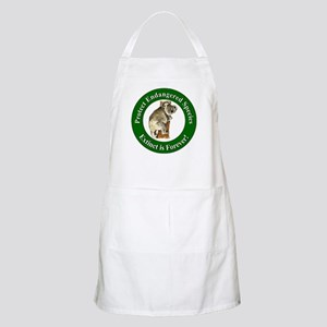 Protect Endangered Species BBQ Apron