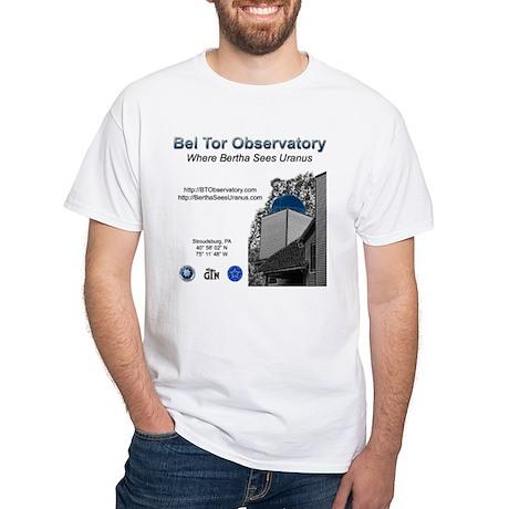 Bel Tor Observatory White T-Shirt