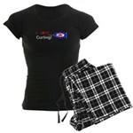 I Love Curling Women's Dark Pajamas
