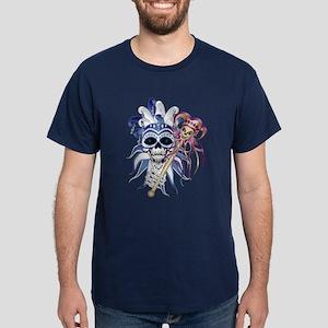 Jester Skull Dark T-Shirt