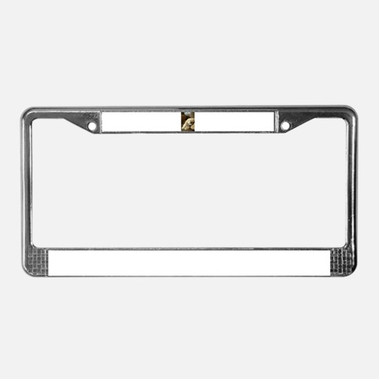 Koko the blond lha License Plate Frame