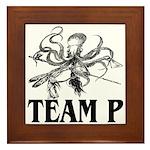 Team P Octopus 2009 Framed Tile