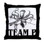 Team P Octopus 2009 Throw Pillow