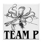 Team P Octopus 2009 Tile Coaster
