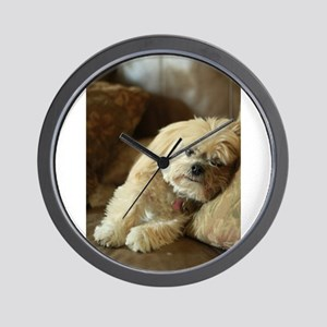 Koko the blond lha Wall Clock