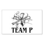 Team P Octopus 2009 Rectangle Sticker 10 pk)