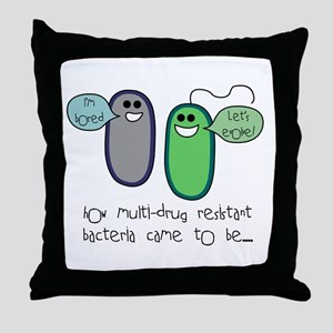 mdr1 Throw Pillow