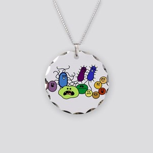lovebacteriatoo Necklace Circle Charm
