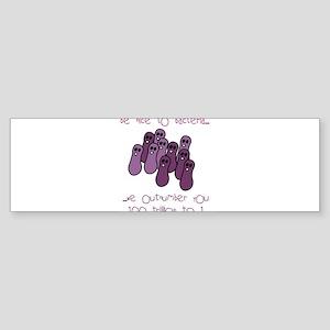 bacteriano Sticker (Bumper)