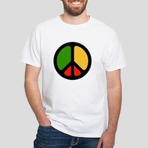 Rasta CND logo White T-Shirt