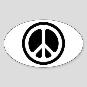 Classic CND logo Oval Sticker