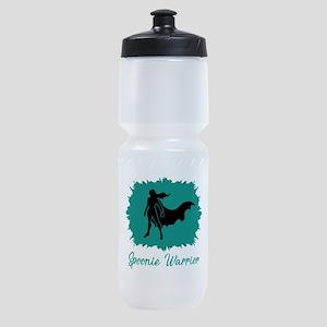 Spoonie Warrior Logo (clear) Sports Bottle