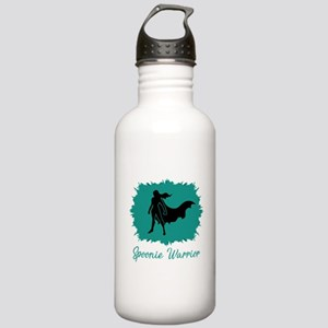 Spoonie Warrior Logo (clear) Water Bottle