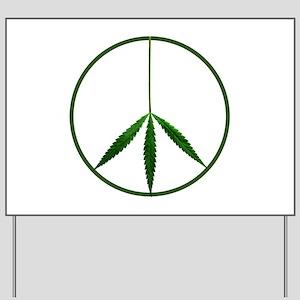 CND leaf Yard Sign