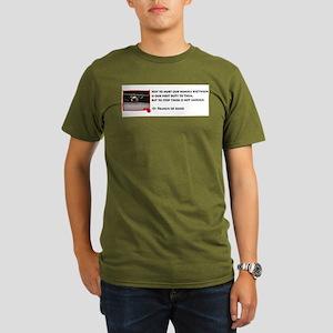 Not to hurt... Organic Men's T-Shirt (dark)