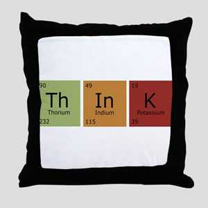 3-thinktrans Throw Pillow