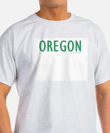 Oregon - Ash Grey T-Shirt
