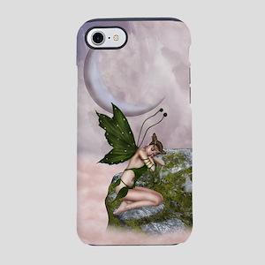 Sleepy Moon Fairy iPhone 7 Tough Case