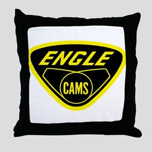 Authentic Original Engle Cams Throw Pillow