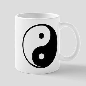 Black Yin-Yang Mug