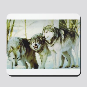 """Wolves"" Mousepad"