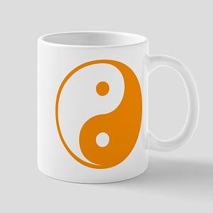 Orange Yin-Yang Mug